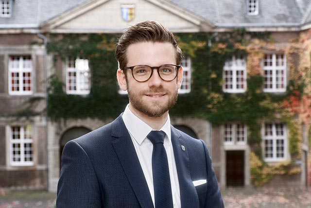 Felix Heinrichs - Oberbürgermeister der Stadt Mönchengladbach