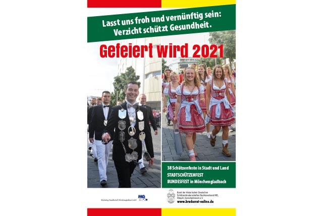 Unsere Hoffnung: gefeiert wird 2021