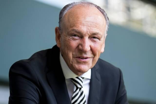 Rolf Königs, Präsident von Borussia Mönchengladbach